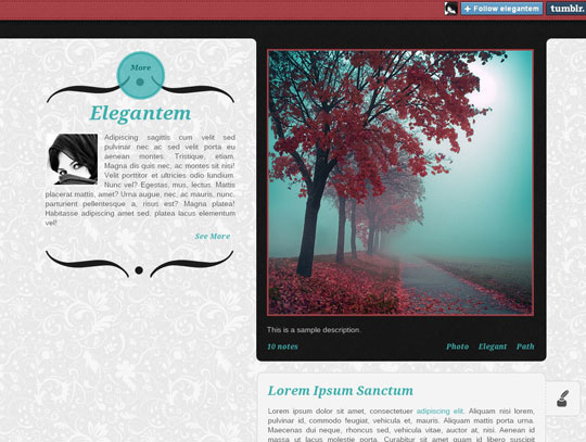 12.best tumblr themes