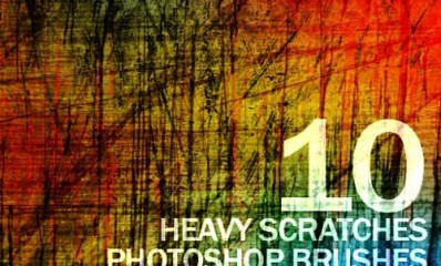 12.photoshop scratch brushes