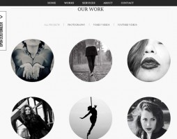 30.one page wordpress themes