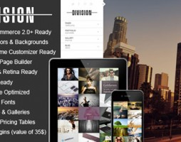 Fullscreen Portfolio Photography Theme