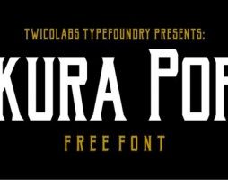 Free Font Of The Day Akura Popo