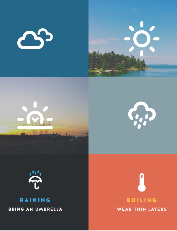 3.Weather Icon