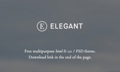 4.Free HTML template